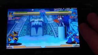 PSP -  Marvel vs Capcom (CPS2PSP Emulator)