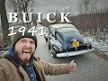1941 BUICK Special Sedanette - bringing home and first ride 20.11.2018 Warszawa - Przysucha