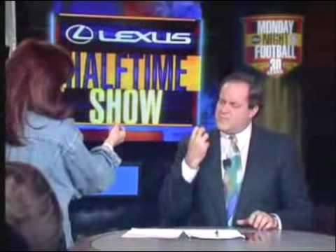 Chris Berman Flirts With Rebecca