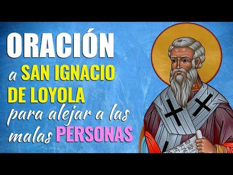 🙏 Oración a San Ignacio de Loyola para ALEJAR LAS MALAS PERSONAS 😠