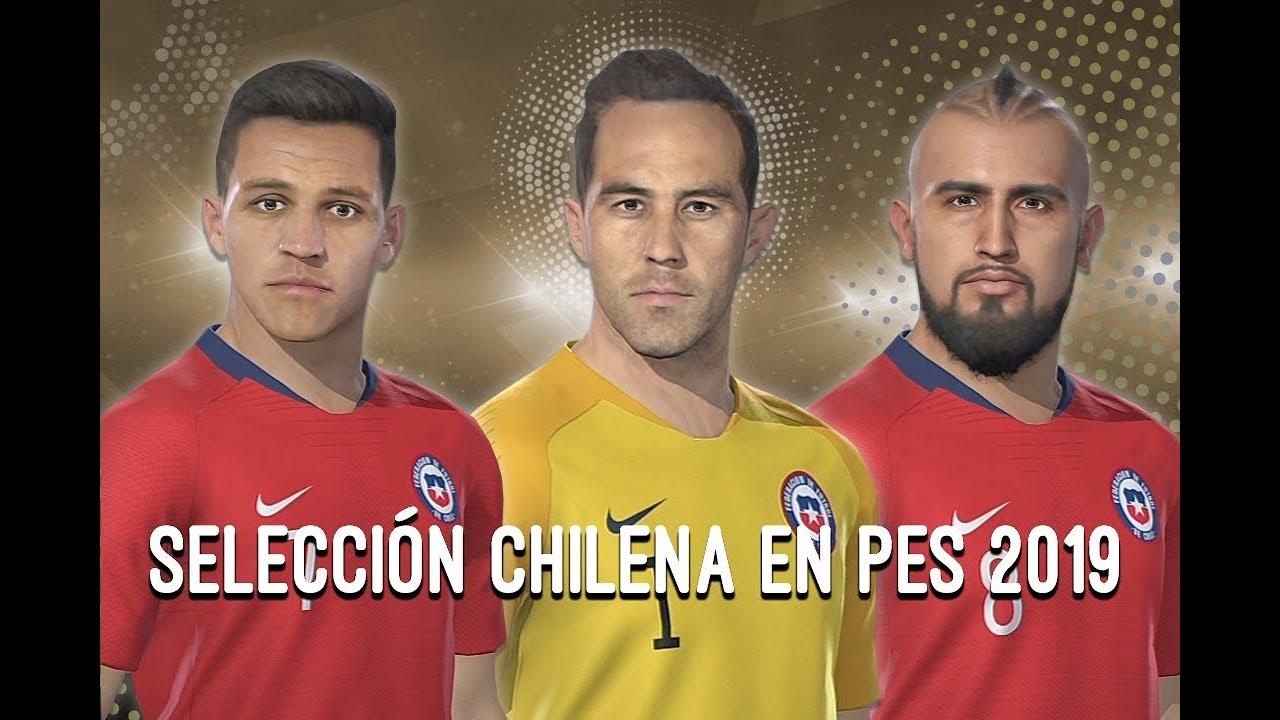 ¡Selección chilena en PES 2019!