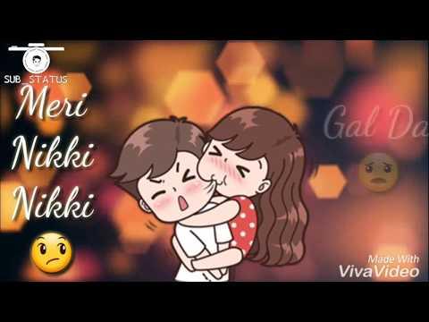 Nitt Di Narazgi Teri || Aarsh Benipal ||New Whatsapp Status 2018 || Punjabi Song || Narazgi