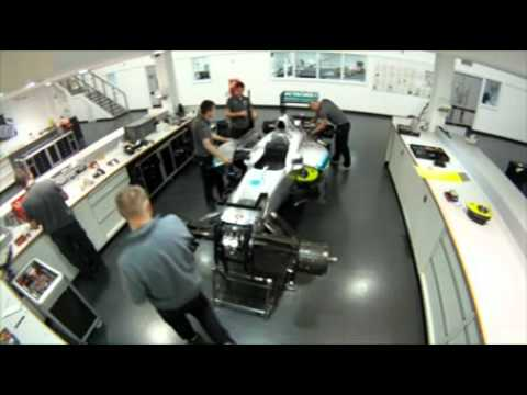 How to get a job in Formula One - Mercedes AMG High Performance Powertrains