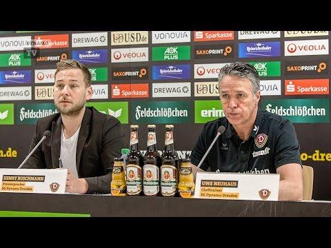 28. Spieltag | VFL - SGD | Pressekonferenz vor dem Spiel