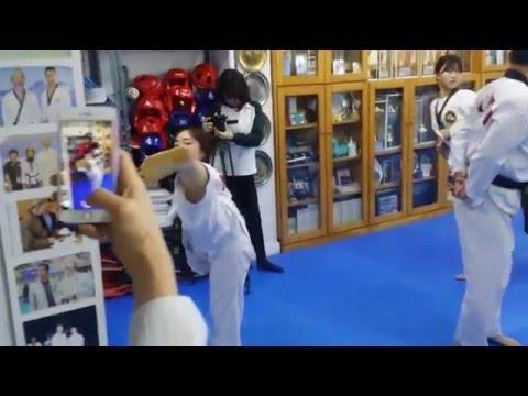 Grand Master Kang, Shinchul WTTU Danu-Raja TKD