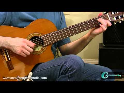FINGERSTYLE GUITAR: Three Finger Roll Technique