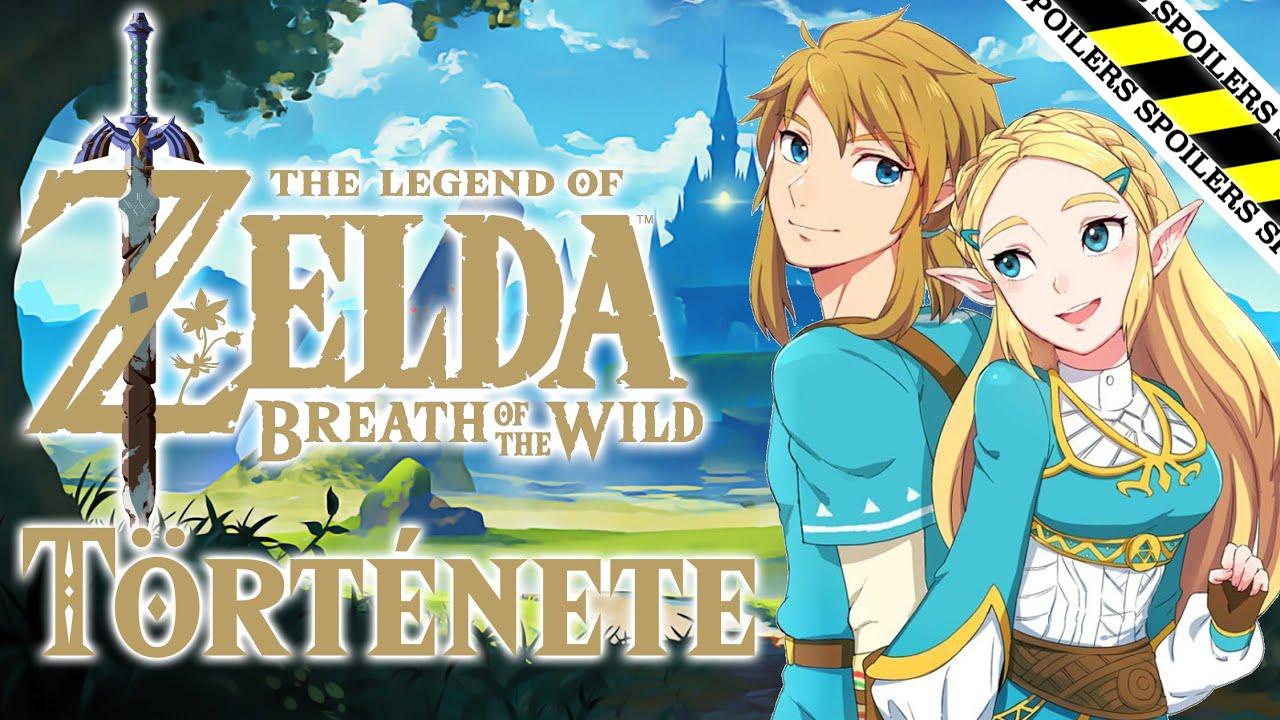 A The Legend of Zelda Breath of the Wild története röviden