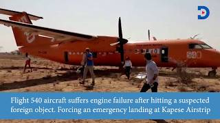 Viewer Discretion: Video that shows dreaded moments before Fly 540's heroic pilot made an emergency