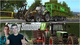 Farming Simulator 17 W pogoni za kasą #20 Zbiórka siana i siewy na wielkiej łące