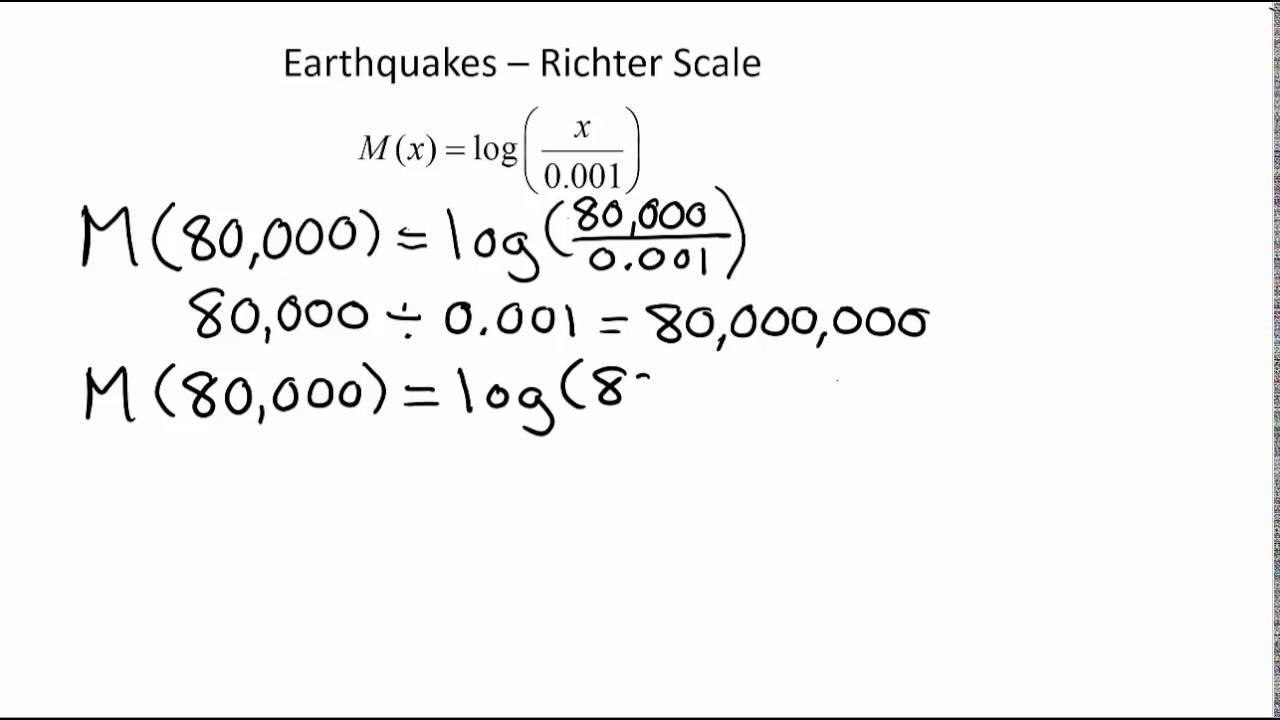 Richter Scale - YouTube