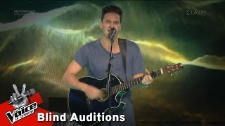 Νέαρχος Ευαγγέλου - Radioactive | 3o Blind Audition | The Voice of Greece