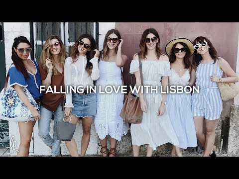 FALLING IN LOVE WITH LISBON | Lily Pebbles Vlog