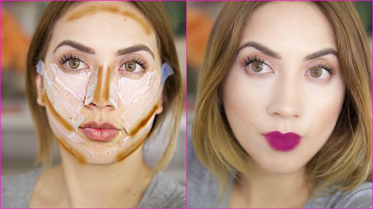 cinta adhesiva para adelgazar la cara