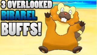 Zapętlaj 3 Overlooked Bibarel Buffs In Pokemon Ultra Sun and Moon | foofootoo