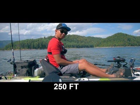 FISHING A DEEP LAKE (WATAUGA LAKE, TN)