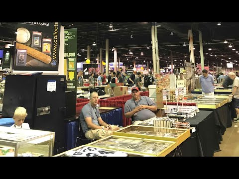 2017 National Sports Collectors Convention Vlog!!!!