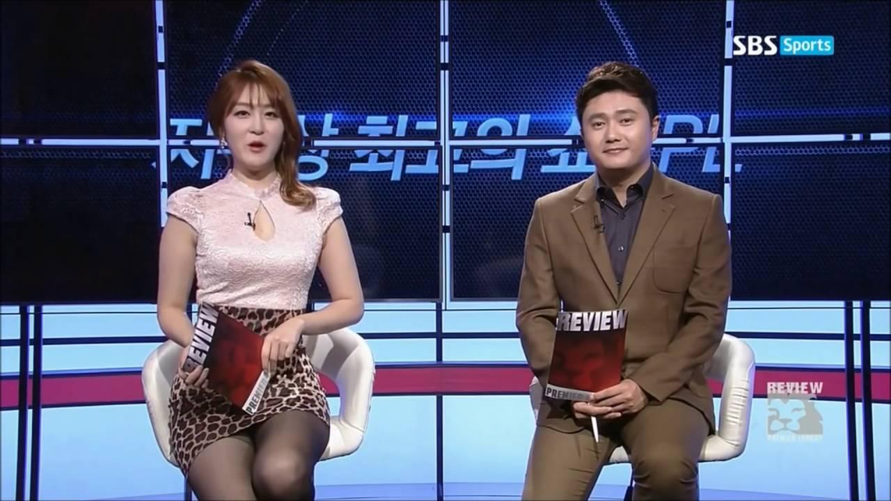 韓国セクシーアナウンサーミニスカート sexy announcer anunciador atractivo