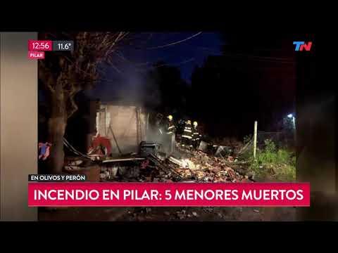 Cinco chicos murieron al incendiarse la casa donde dormían cuando sus padres salieron a bailar