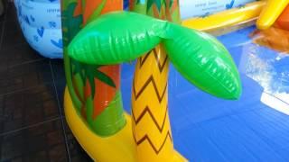 Review: INTEX baby pool. สระว่ายน้ำเด็กน้อยเป่าลม