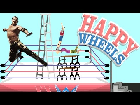Happy Wheels: WWE Coup De Grace  Part 438
