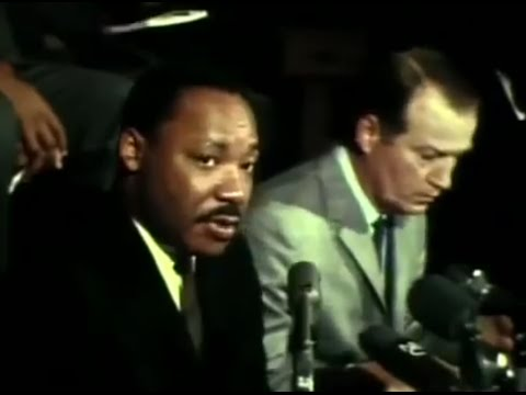 Martin Luther King Jr. ends boycott in Cleveland, November 1967