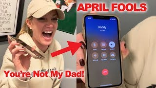DNA APRIL FOOLS PRANK - YOU'RE NOT MY DAD
