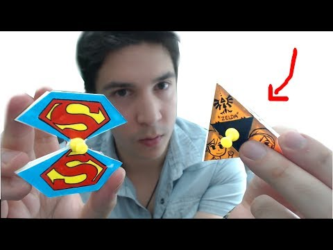 Faire des Hand Spinner en PAPIER ?! (Superman, Zelda, Minecraft..)