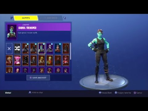 SELLING OG FORTNITE ACCOUNT PS4 | SKULL TROOPER , GHOUL ...