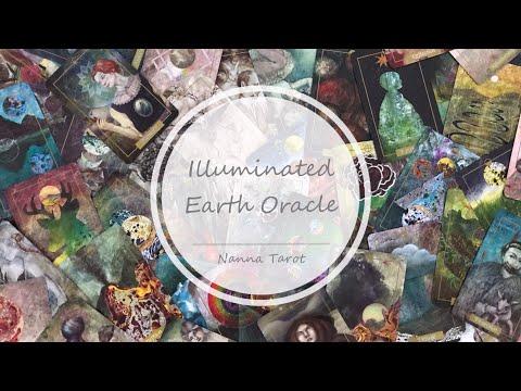 開箱  光明地球神諭卡 • Illuminated Earth Oracle  // Nanna Tarot