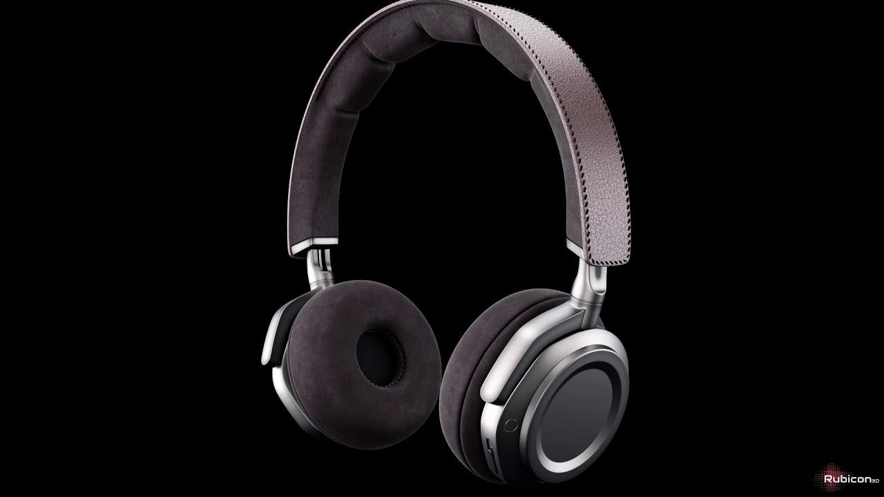 3d product animation premium headset | Cgi commercial