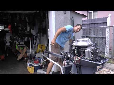 Fixing Up A Yamaha 25hp 2 Stroke Outboard Motor
