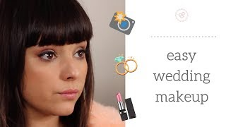 Easy Wedding Makeup |  Photo Ready!