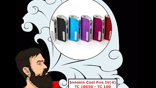 Vape обзор №132. Innokin Cool Fire IV(4) TC 18650 - TC 100(Благодарность компании #Innokin за предоставленные образцы. (Thanks companies #Innokin for providing the samples.) - http://www.innokin.com/ -----------., 2016-08-09T08:05:36.000Z)