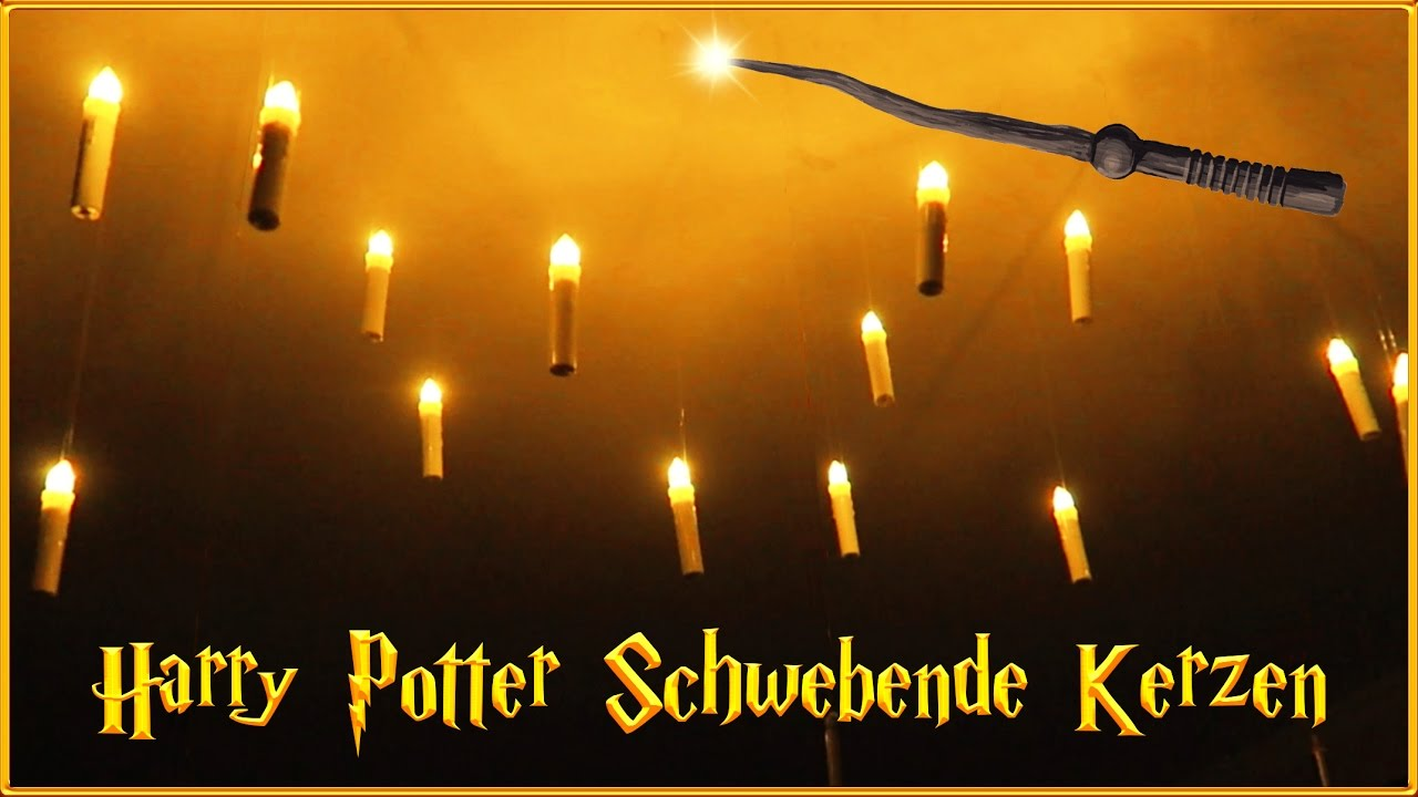 diy schwebende kerzen die mal andere deko f r weihnachten harry potter inspiration youtube. Black Bedroom Furniture Sets. Home Design Ideas