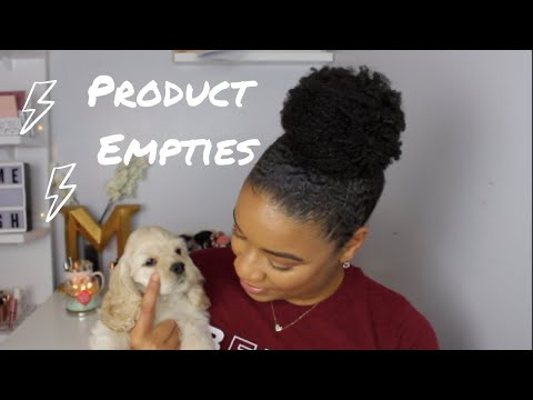 PRODUCTS I USED UP!!