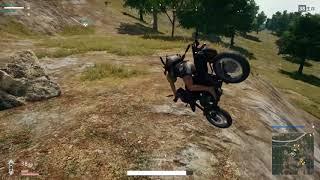 【PUBG】バイクでラピュタに行きたかった男
