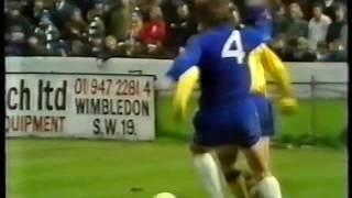 Chelsea v Crystal Palace 1971