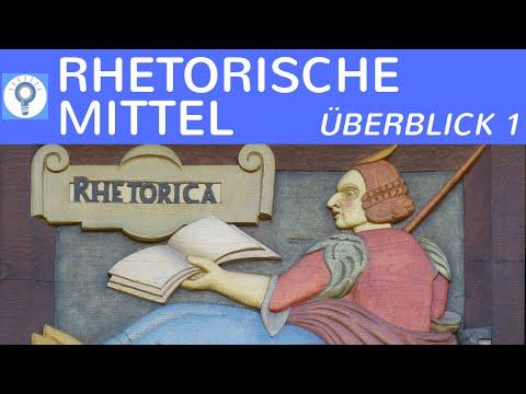 Rhetorische Stilmittel/ Figuren - Zusammenfassung Teil 1 - Alliteration, Anapher, Enjambement & mehr