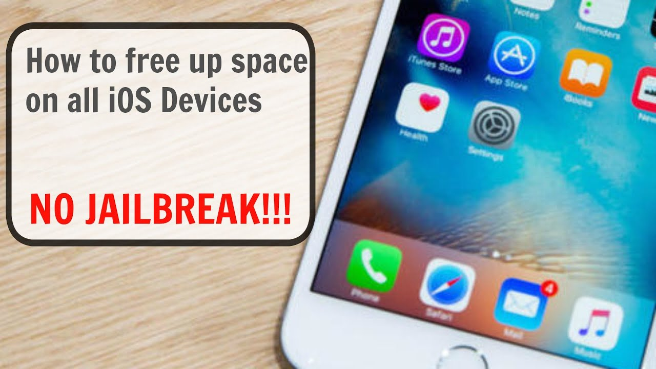 how to free up space on iphone 5 how to free up space on iphone amp ipod touch 8042