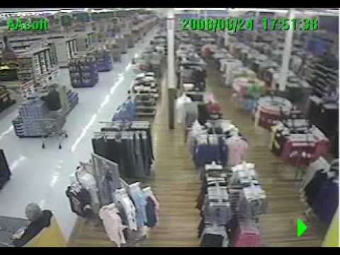 Walmart Surveillance Video - YouTube