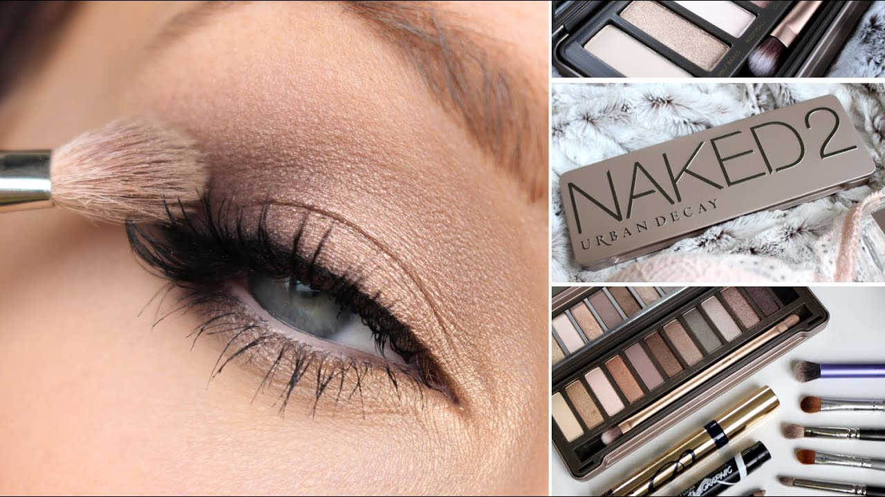 Bien connu URBAN DECAY NAKED 2 EYESHADOW PALETTE TUTORIAL - YouTube AS18
