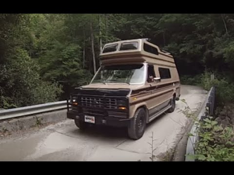 Camping And Swimming At The River In The Class B Campervan