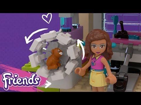 Friendship House 41340 Lego Friends Product Animation Youtube