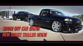 NEW BILLET TRAILER HITCH !! FOR THE LIFTED Z71/ SHOW OF CAR SHOW
