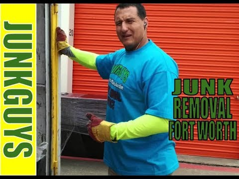 Junk removal & trash pickup jobs all in Fort Worth Texas today  / DfwJunkGuys.com