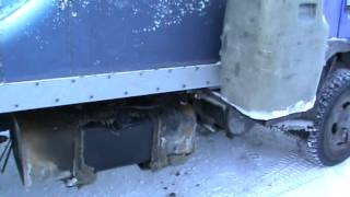 Топливный бачек предпускового подогревателя на BAW