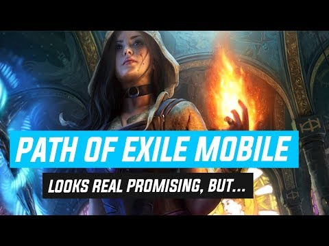Path Of Exile Mobile? I'M EXCITED!