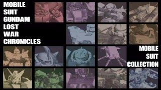 [PS2] 機動戦士ガンダム戦記 ─Lost War Chronicles─「登場MS解説集」