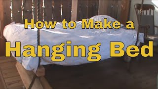 How To Make a - Hanging Bed - Wooden Hammock
