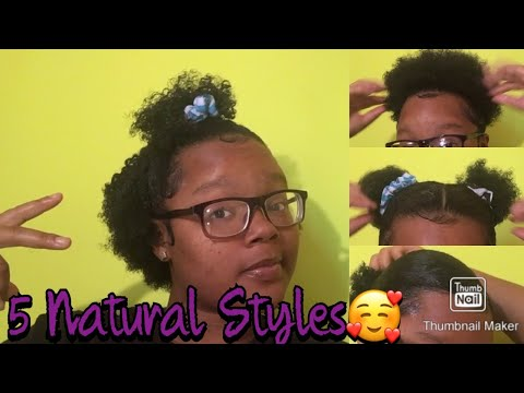 5-simple-cute-hairstyles-for-short-natural-hair